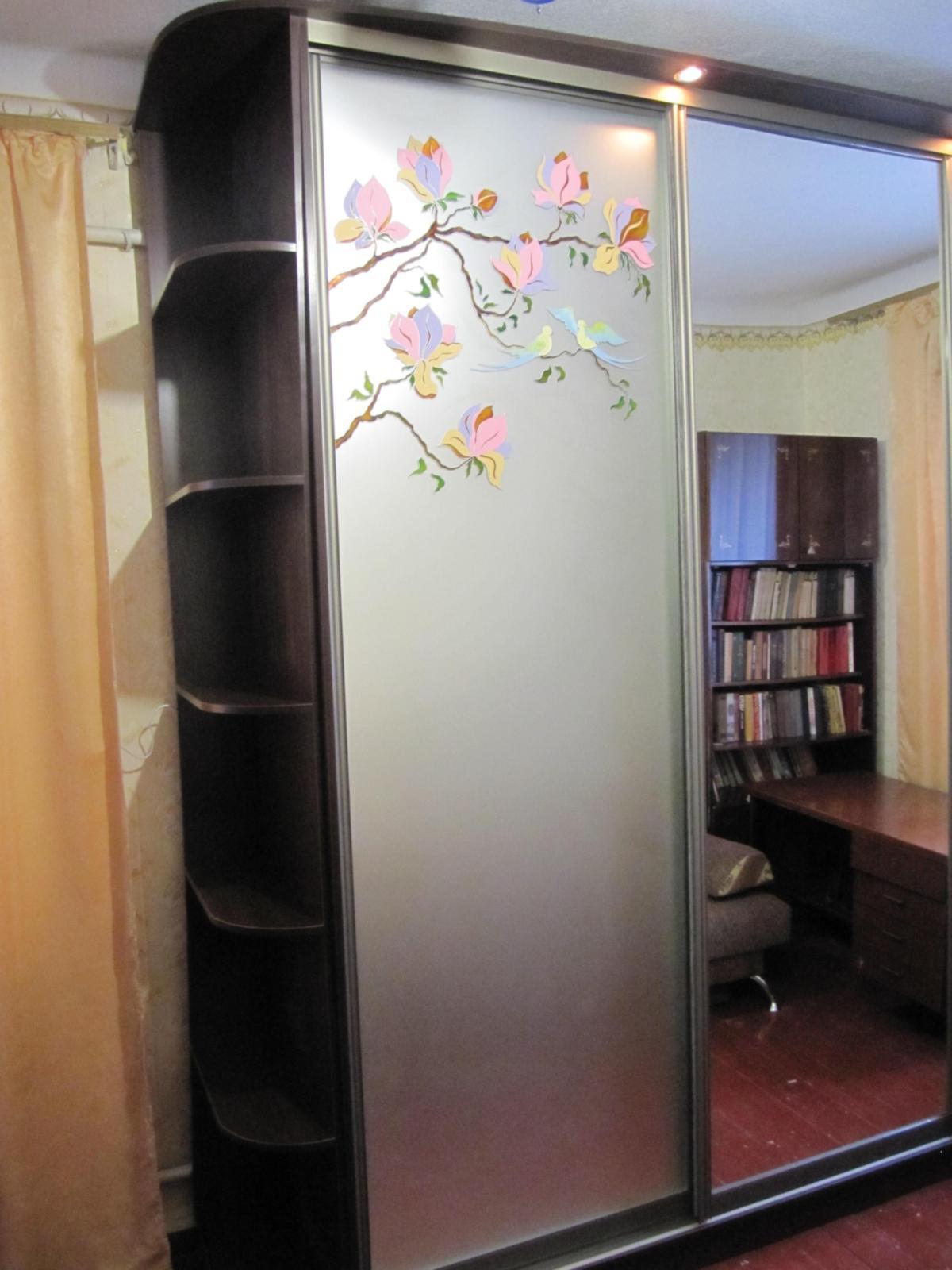 Шкаф-купе Цветис