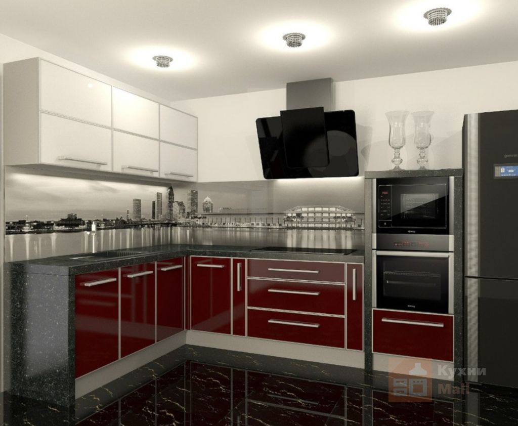 Кухня Клубника со сливками